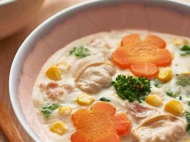 【栄養士監修】ひな祭り♪はまぐりのスープの画像