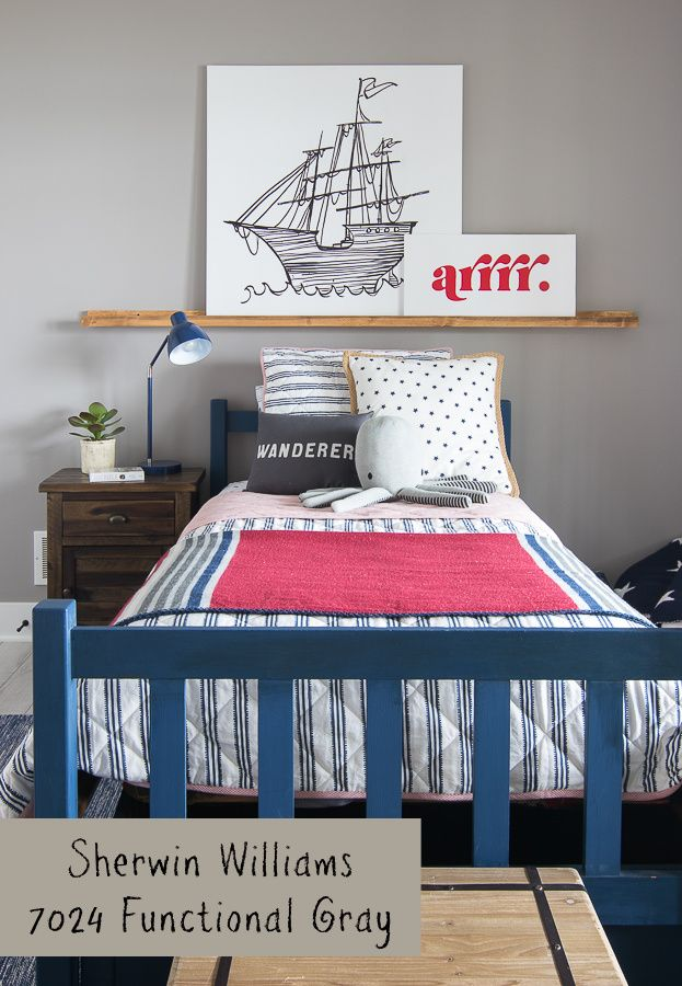 Lake House Blue And Gray Paint Colors Boys Bedroom Colors Boys