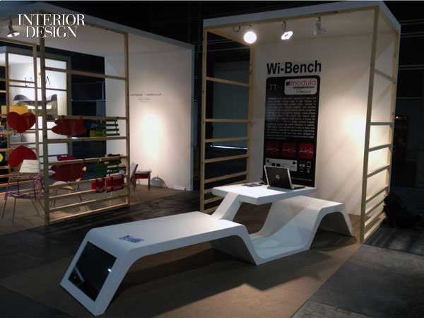 Tommaso Tavani's Wi-Bench for Modula srl.
