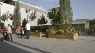WoodBlocX have been working with Urban Planters to bring a bit of nature into the Westfield Shopping Centre in London