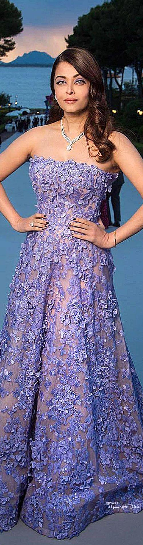 #Aishwarya #Rai Bachchan in Elie Saab Couture ♔ Cannes Film Festival 2015 Red Carpet ♔ Très Haute Diva ♔