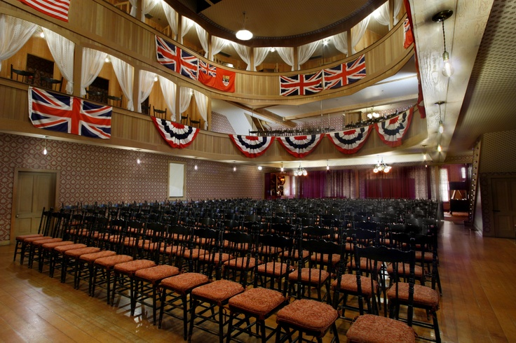 Palace Grand Theatre, Dawson City Yukon!