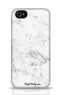 White Marble 2 Apple iPhone 4 Phone Case