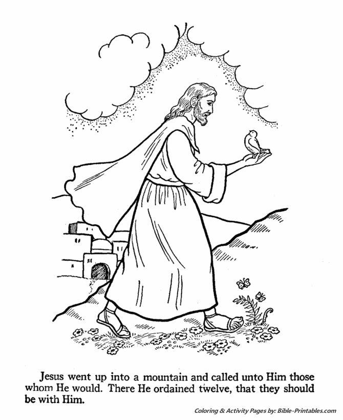 Jesus ordained the twelve Apostles | Little Village ...