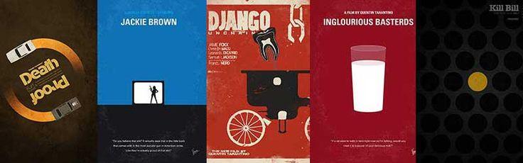Carteles alternativos de las películas de Tarantino - Blog Cine Critica