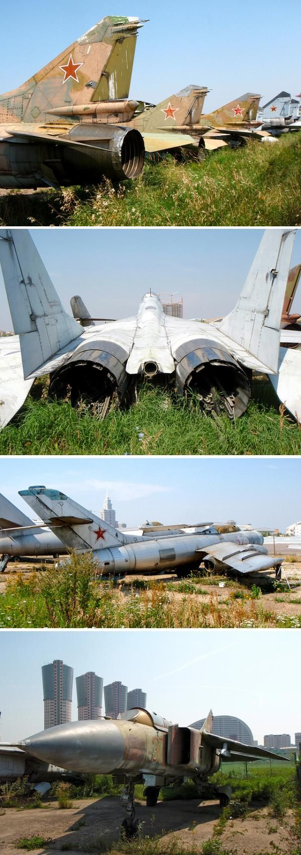 derelict migs moscow Abandoned Aircraft, Airfields, Airbases and Airport Terminals