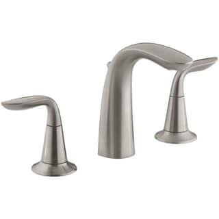 Kohler Refinia 8 Inch Widespread Bathroom Sink Faucet In Brushed