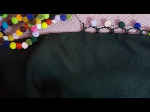 Sıralı Boncuklu Moda Kolay Tığ Oyası Yapılışı - YouTube