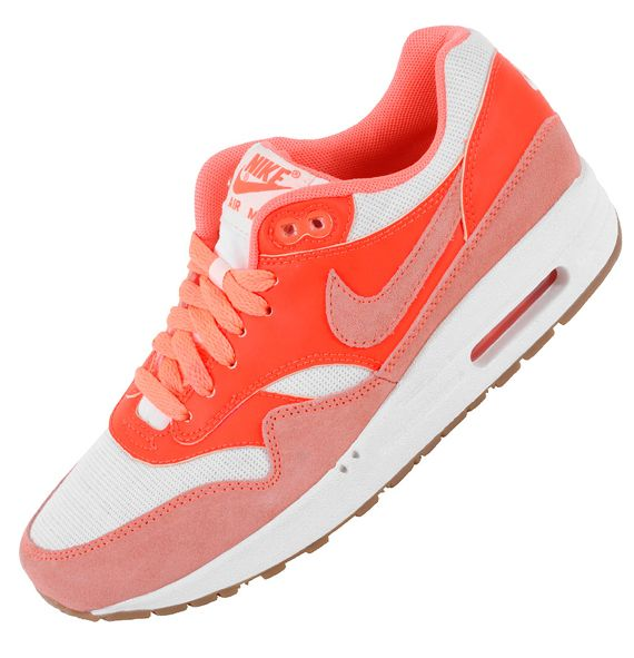 Nike Air Max 1 VNTG – Bright Mango/Total Crimson