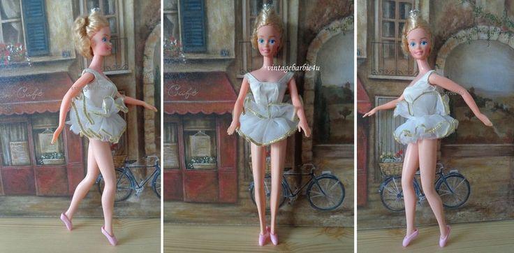 Vintage Barbie Doll EUROPA Superstar Ballerina #4983 Taiwan RARE Mattel #Mattel #DollswithClothingAccessories