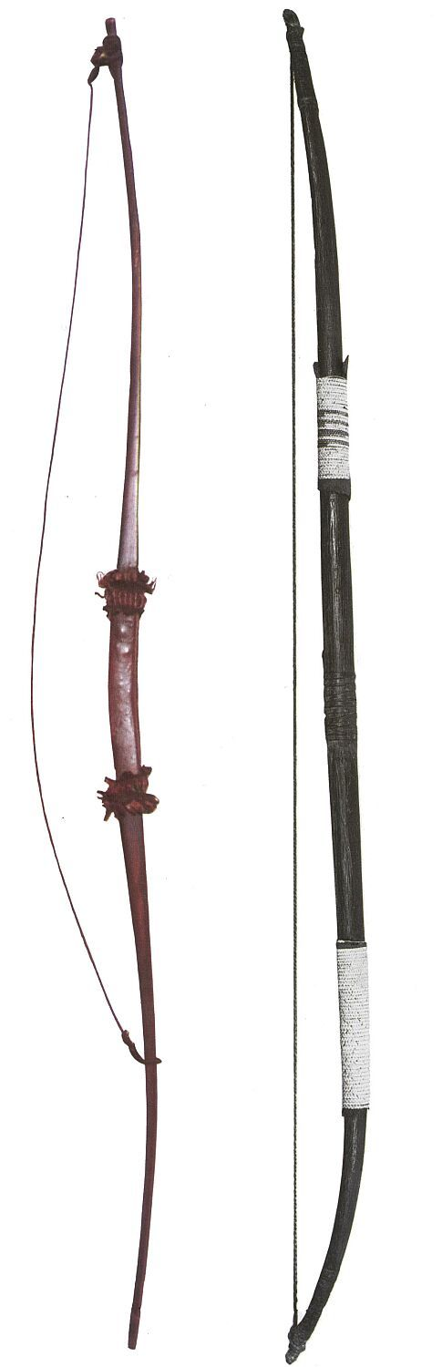 Crow and Blackfoot Bows