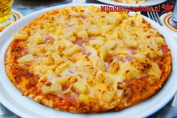 Aardappel pizza recept