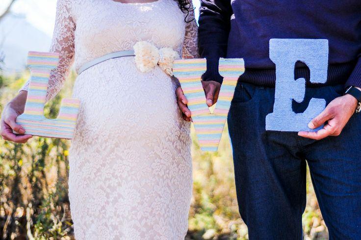 LOVE maternity photo idea Happy Endings Photography