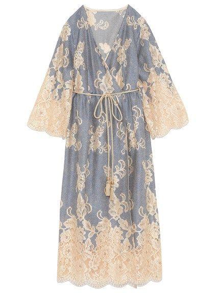 1f493dc10e1a1 レースロングジャケット(ガウン) Lily Brown(リリーブラウン) ファッション通販 ウサギオンライン公式通販サイト