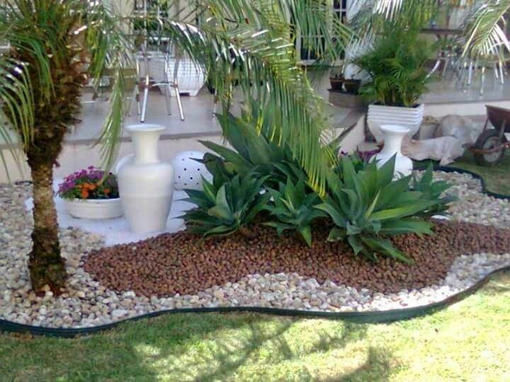 154 mejores im genes sobre jardines con piedras for Piedras decorativas jardin