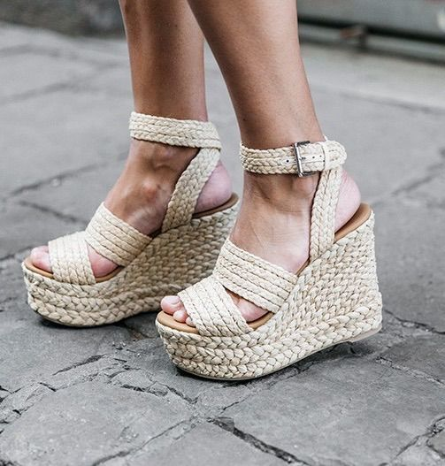 Canvas rope wedges                                                       …