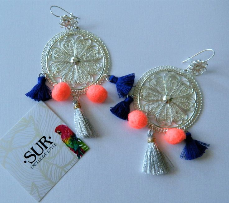 Filigree Earrings by SurExclusive on Etsy