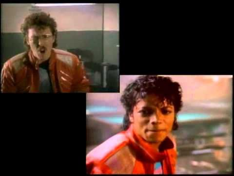 Eat It / Beat It Comparison - Weird Al / Michael Jackson
