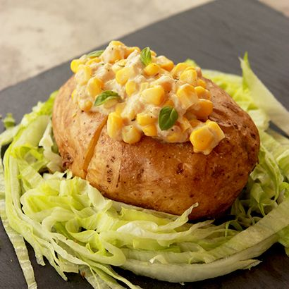 Tuna and Sweetcorn Jacket Potato by Loveinsoradise