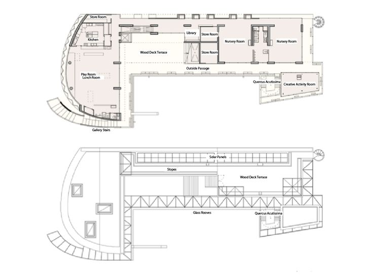 Heart Nursery School 2F and Rooftop