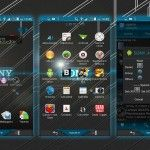 Install custom Xperia Sony theme on rooted Xperia device