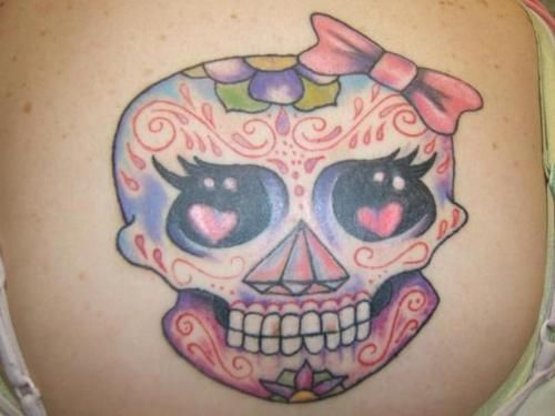 17 best images about tattoos on pinterest bow tattoos sugar skull tattoos and tattoo designs. Black Bedroom Furniture Sets. Home Design Ideas