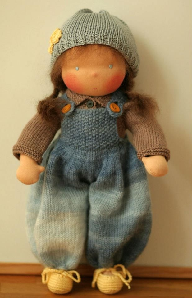 18 curated Waldorf and Knitted dolls ideas by Clairelockdolls | Wool ...