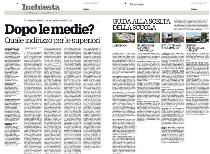 #GiornalismoLocale  #Ischia #MondoScuola