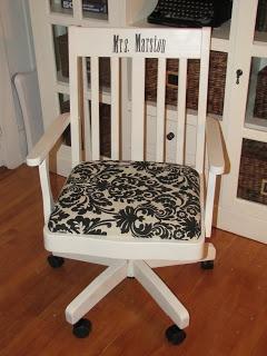 Homemade Beauties By Heidi: Teacher Appreciation Week: Teachers Chair