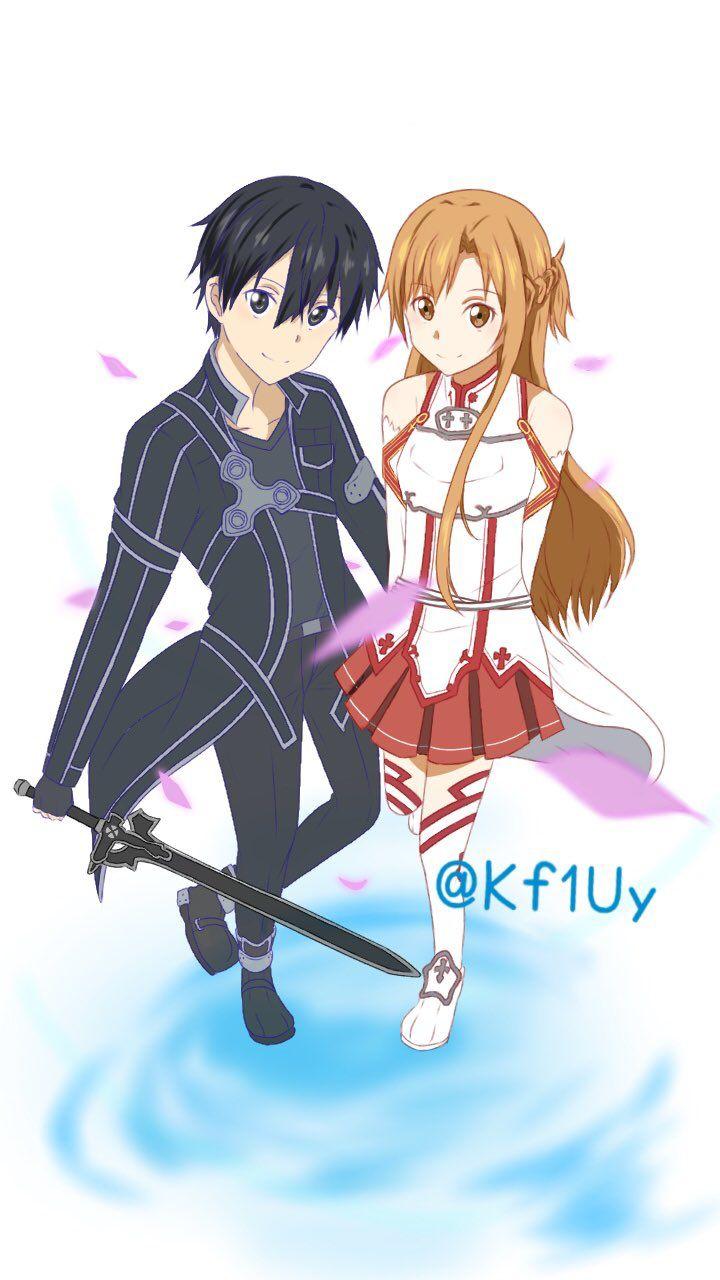 2656 best Sword Art Online (Kirito & Asuna♡)&(Other Characters :D ...