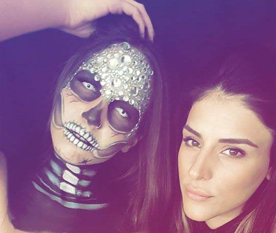 A Halloween transformation! Diamond Skull makeup tutorial! #halloween #halloweenmakeup #makeupartist #diamondskull  #art #makeupart