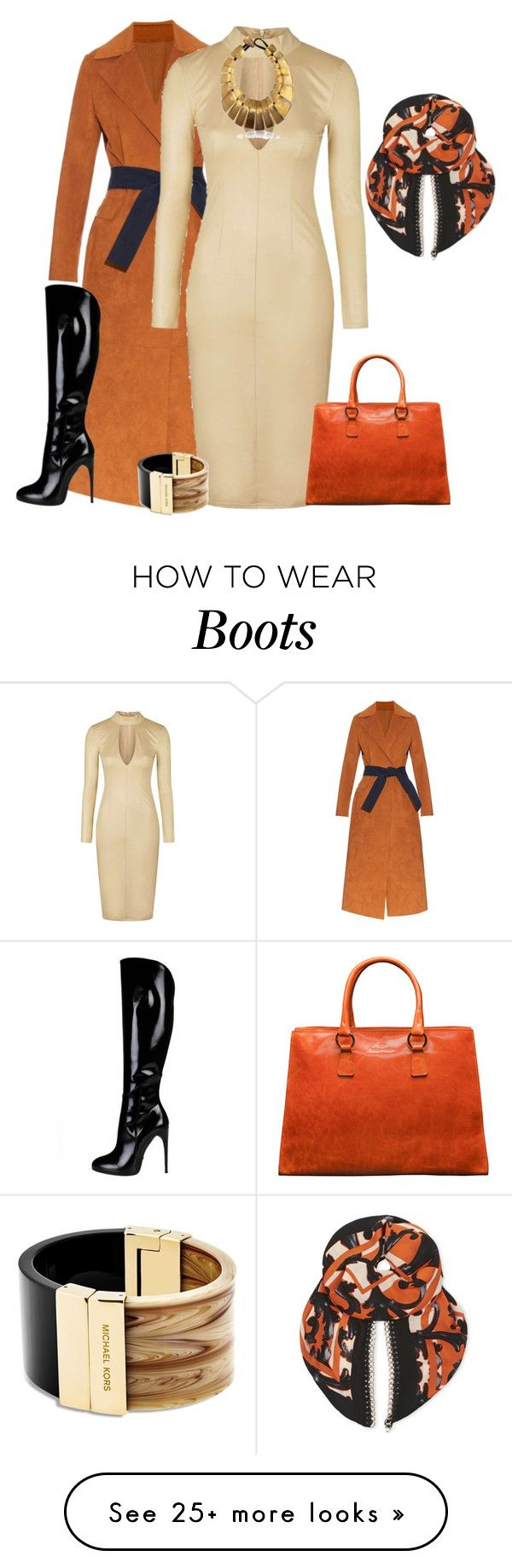 """outfit 3355"" by natalyag on Polyvore featuring MSGM, Topshop, Issa, Gucci, Michael Kors, women's clothing, women, female, woman and misses"