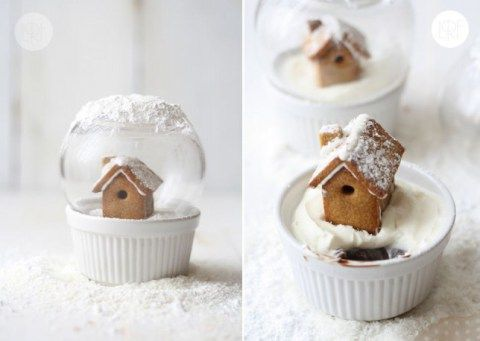 These magical snow globes are EDIBLE guys