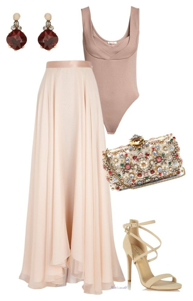 """""""dress2238"""" by k-meszaros on Polyvore featuring Lanvin, Alexander McQueen, Miss Selfridge and Accessorize"""
