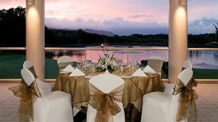 Sheraton Grand Mirage Resort Port Douglas - wedding setting