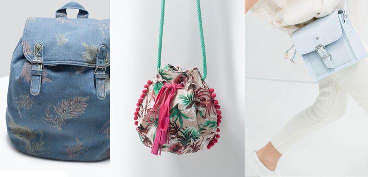 Bolsos Zara Niña, colección Primavera-Verano 2015 - http://www.guiabolsos.com/bolsos-zara-nina-coleccion-primavera-verano-2015.html