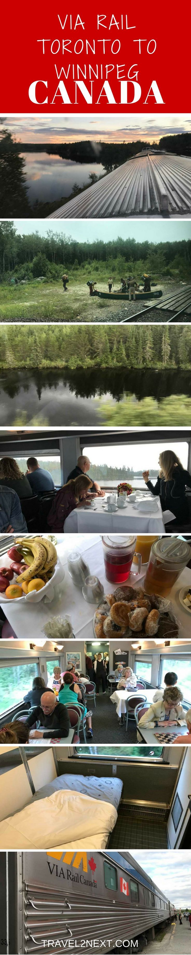 """""""The Canadian"""" is a train journey that travels 4466 km, from the Boreal forests of Northern Ontario through the Prairies to theCanadian Rockies. It's a classic train journey across Canada right through the heart of the country."""