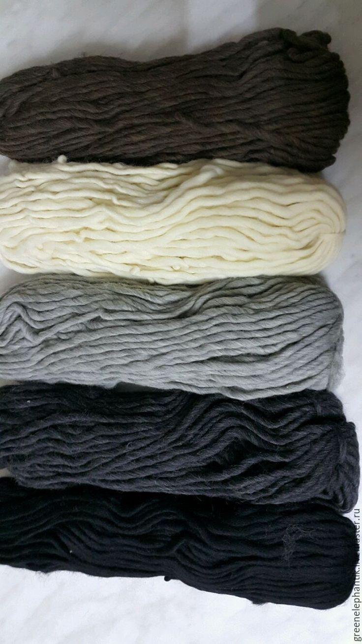 Купить Пряжа шерстяная для вязания и декорирования - вязание руками, шерсть 100%, шерсть, шерсть австралийская
