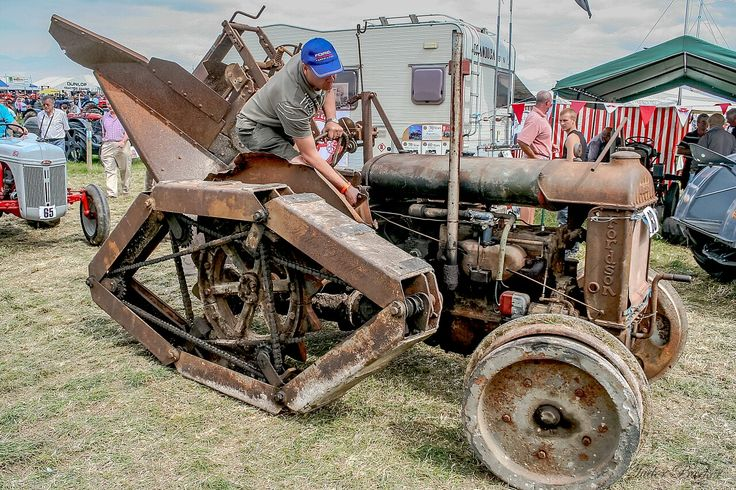 Old Tractor With Tracks : Best images about fordson on pinterest models snow