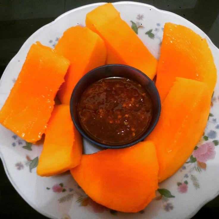 D'Sweetie Mangoes Rujaks :-)