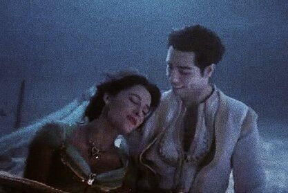 Aladdin And Jasmine Naomi Scott Mena Massoud Aladdin
