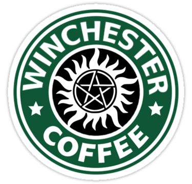 There is no hot chocolate sweetest than the Winchesters but…love me some starbucks parody design :) • Also buy this artwork on stickers, apparel, phone cases, and more.