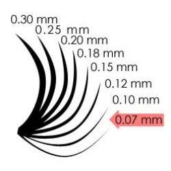 Webáruházunkban elérhető pilla vastagságok: 0.07, 0.10, 0.12, 0.18 mm