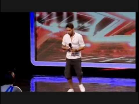 Danyl Johnson X Factor 2009 Full Audition