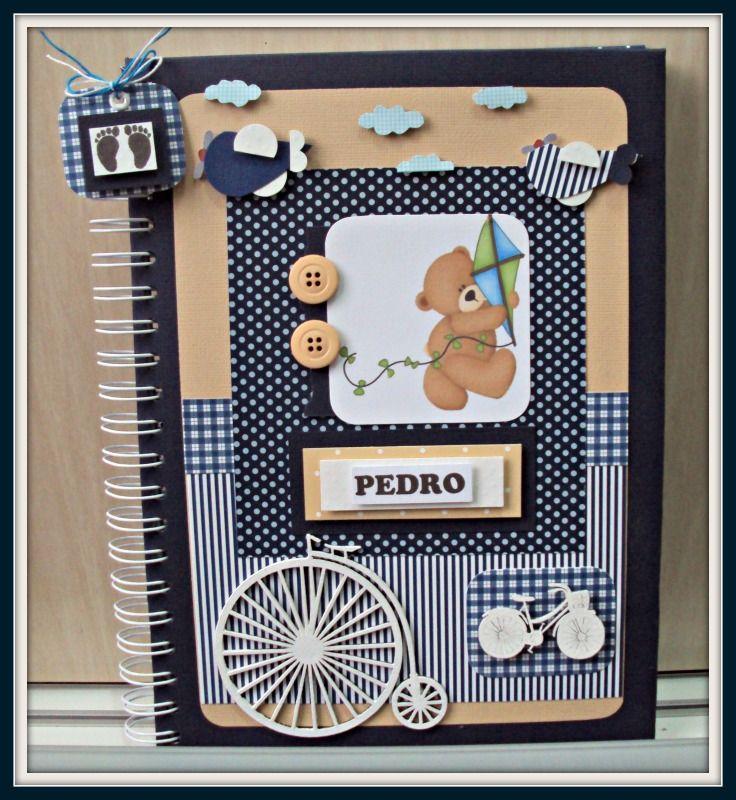 Álbum do bebê - Ursinho