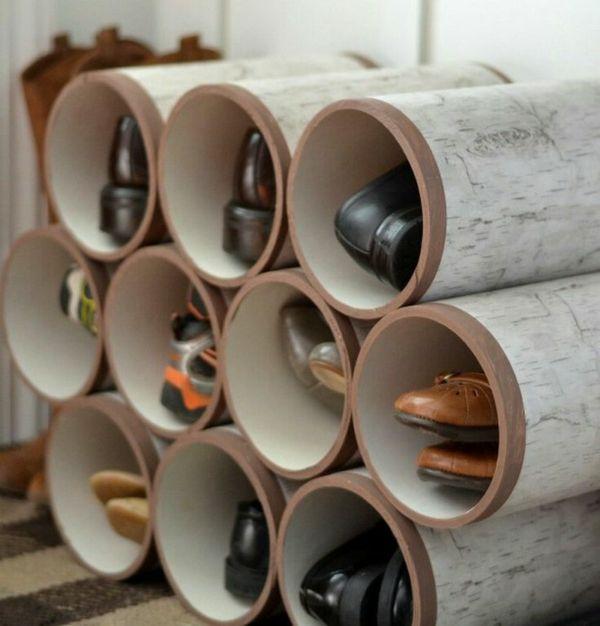 die besten 25+ pvc röhren ideen auf pinterest   pvc-rohr handwerk, Gartenarbeit ideen