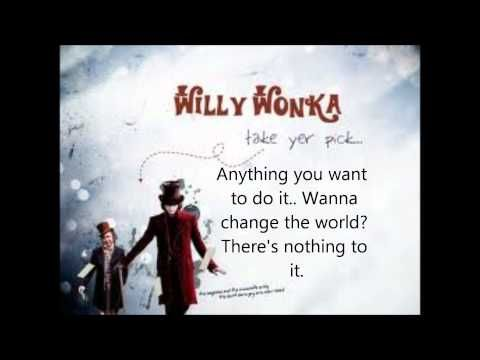 Pure Imagination Lyrics - Willy Wonka and The Chocolate ...