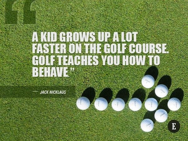 10 Inspirational Quotes That Will Help You Excel On and Off the Golf Course! Find more golf ideas, quotes, tips, and lessons at #lorisgolfshoppe