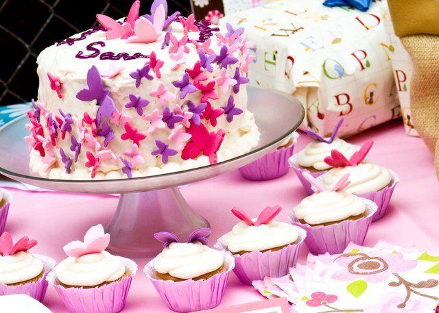 Great butterfly cake! #butterflies #cakes