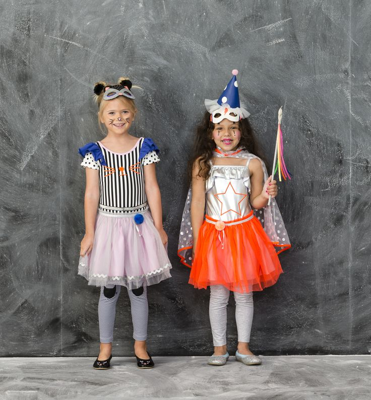 We are too cute to spook! The Twirling Cat and Circus Superhero are a dynamic duo! Click the image to shop our NEW Halloween Range #cottononkids #halloween #toocutetospook